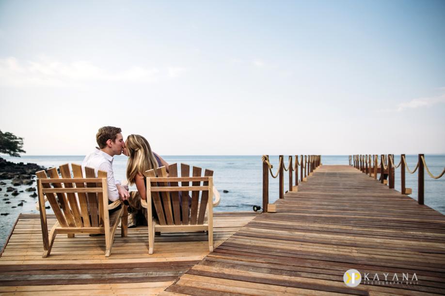 Lydia and Matthew Lombok Honeymoon LombokLodge
